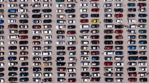 Geparkeerde auto's