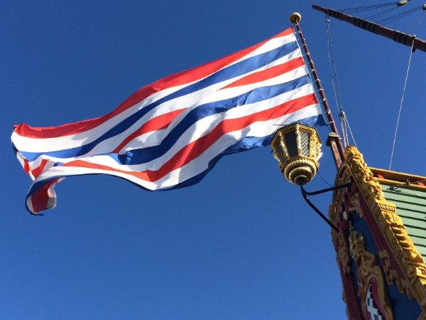 Vlag van schip Batavia