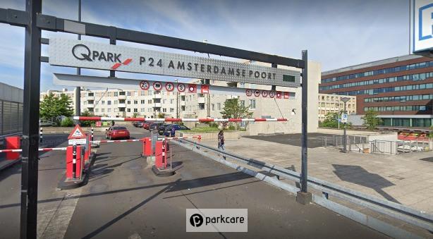Ingang Q-Park Parkeergarage Amsterdamse Poort