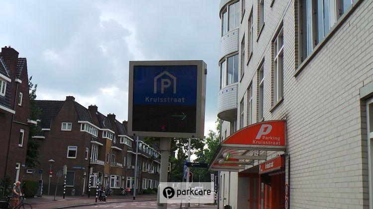 Ingang Parkeergarage Kruisstraat Utrecht P1