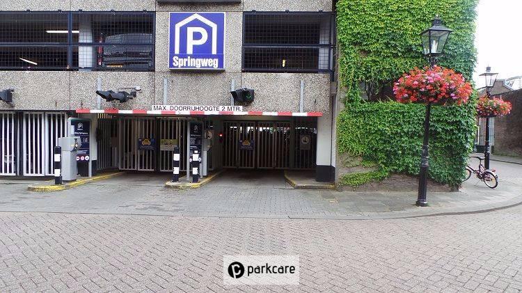 Parkeergarage Springweg Utrecht Interparking