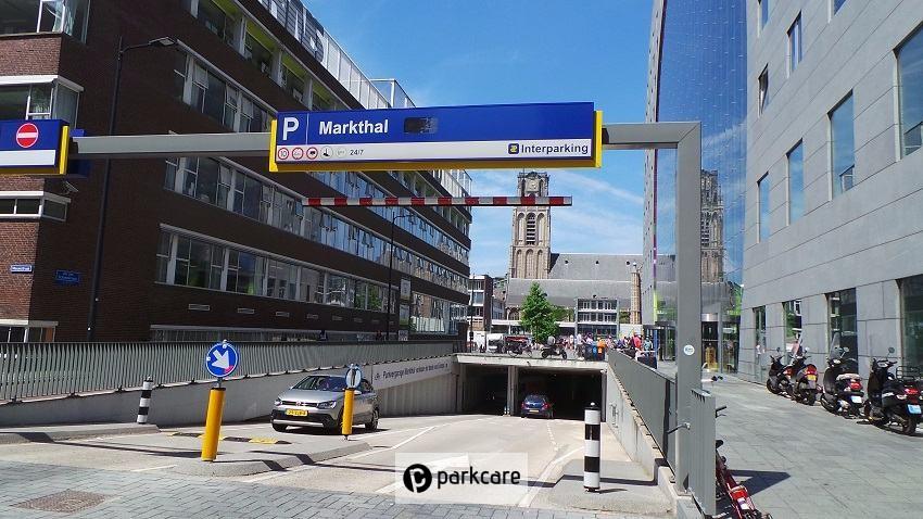 Ingang Parkeergarage Markthal